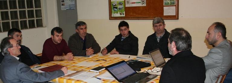 IGMG Teftiş Heyeti Italya'da idi.