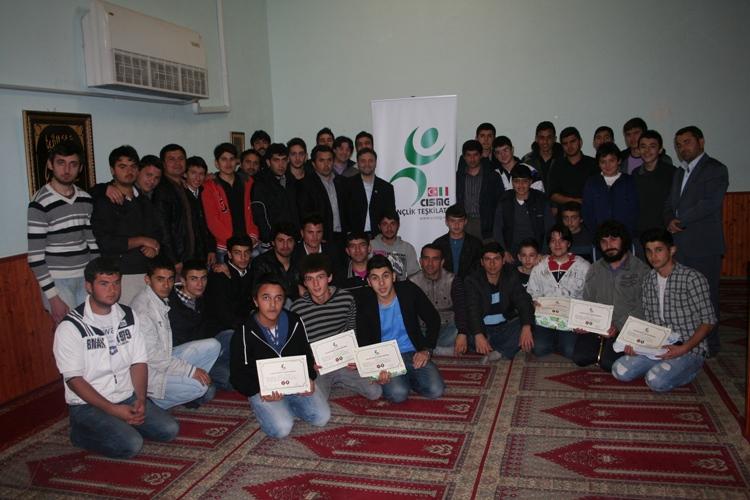 CISMG Gençlik Teskilatı, 2013 Bilgi Yarışması Bölge finalleri yapıldı.