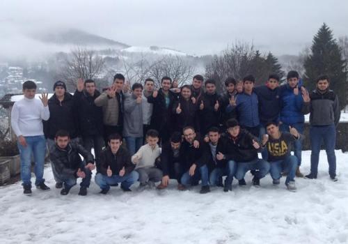 Bölge Gençlik Teşkilatı Kış Kampını Gerçekleştirdi