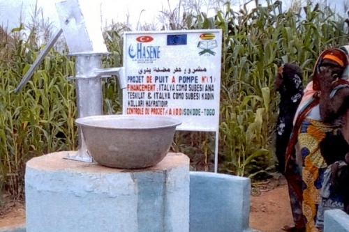 Como'dan Togo'ya su kardeşliği
