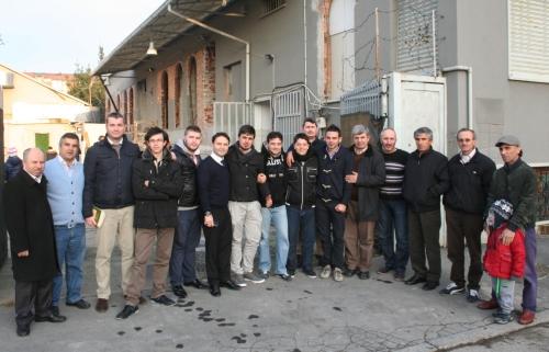 Milano Şubemizde Kış kermesi ve Umre Duası