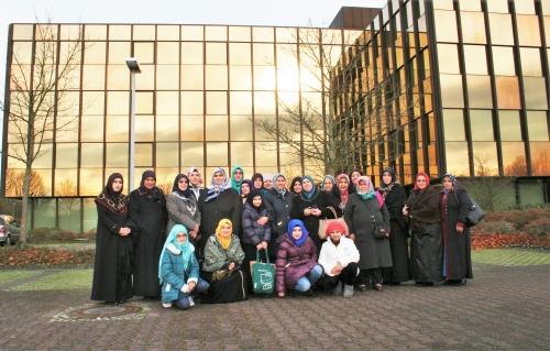 Kadınlar Teşkilatımız ve Üyelerimiz 12. Tilavet Yarışmasında
