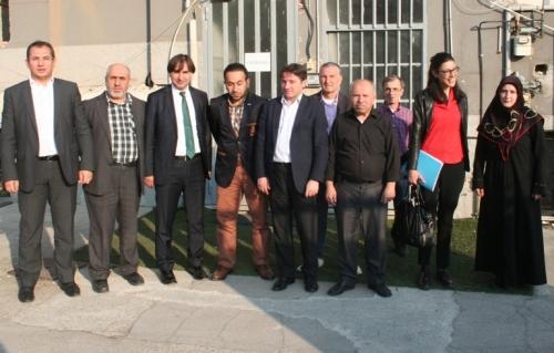 Yurt Dışı Türkler Başkanlığından Bölge Merkezimize Ziyaret