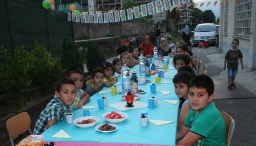 Como'da Yaz kursu Talebeleri ve Velilerine İftar