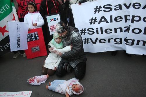 Halep İçin Meydanlardaydık