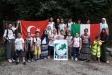 Como Şubesi Yaz Kursu Öğrencileri Baradello Kalesinde