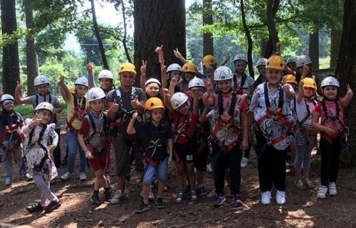 Como 2019 Yaz Kursu Talebelerimiz Albavilla Orman İzcilik Kampında