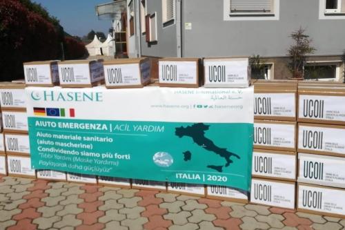 Hasene Yardımları İtalya'da